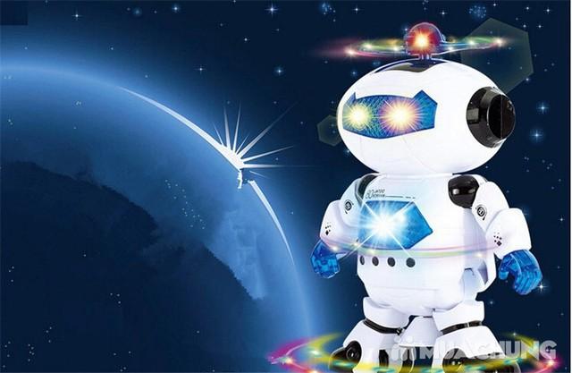 Rô bốt thông minh xoay 360 độ phát sáng, phát nhạc - 3
