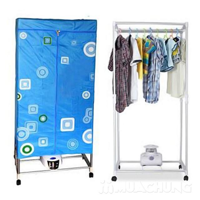 Tủ sấy quần áo khung inox công suất mạnh mẽ - 4