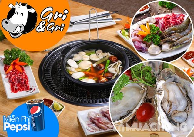 Buffet Lẩu nướng Gri & Gri Trần Thái Tông Menu VIP - 1