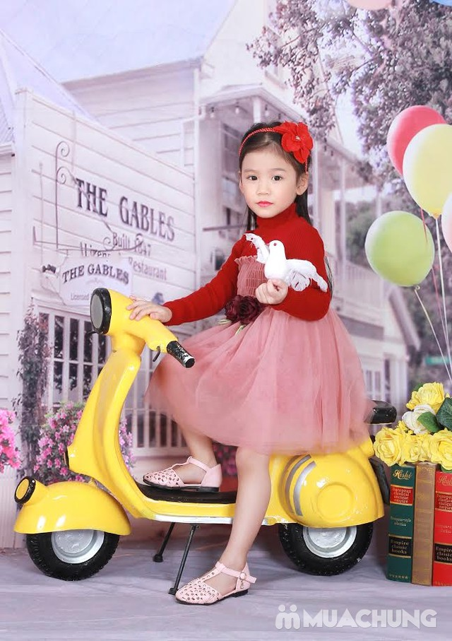 Gói chụp ảnh cho bé cực hấp dẫn tại Chibi Studio - 5