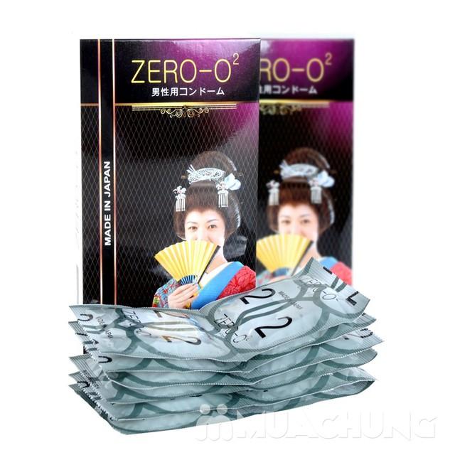 3 Hộp bao cao su Zero O2 siêu mỏng số 1 Nhật Bản  - 4