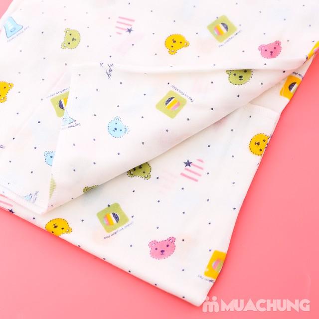 Combo 1 khăn tắm + 10 khăn xô họa tiết cho bé yêu - 11