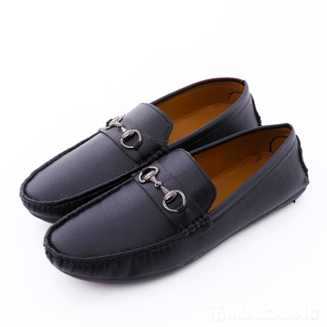 Giày lười da phong cách cổ điển cho nam - 7