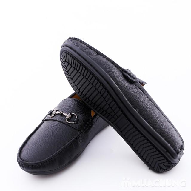 Giày lười da phong cách cổ điển cho nam - 8