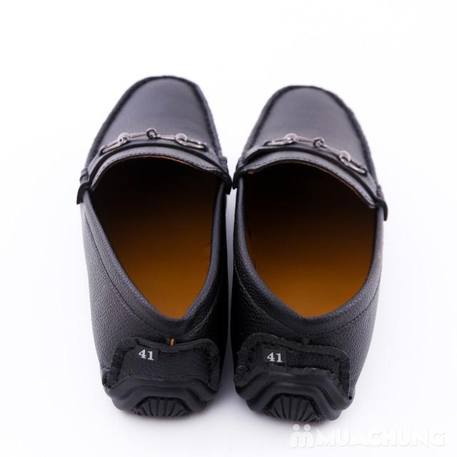 Giày lười da phong cách cổ điển cho nam - 9