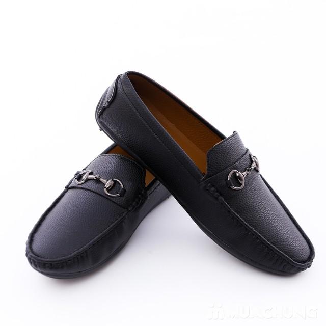 Giày lười da phong cách cổ điển cho nam - 12