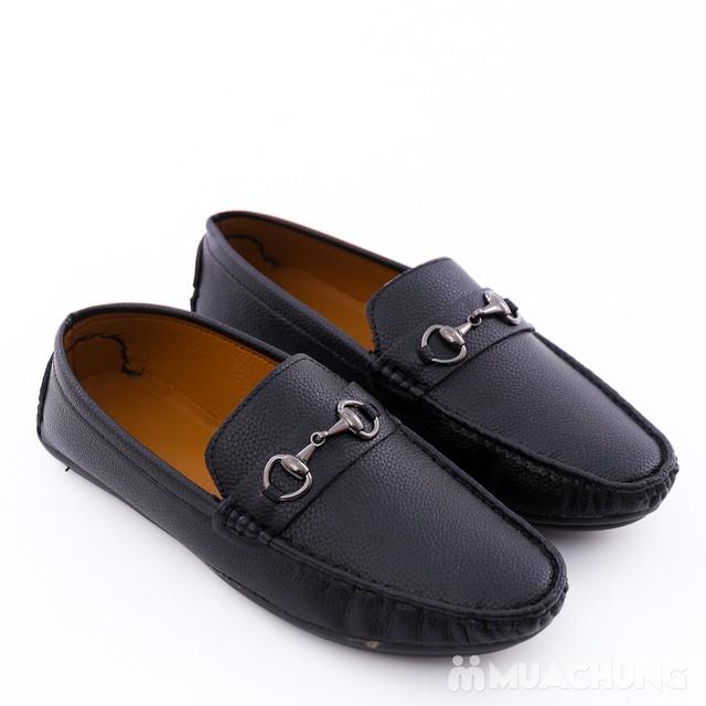 Giày lười da phong cách cổ điển cho nam - 6