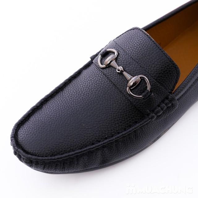 Giày lười da phong cách cổ điển cho nam - 10