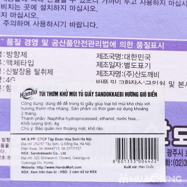 2 vỉ khử mùi giầy dép Hàn Quốc ngát hương - 4
