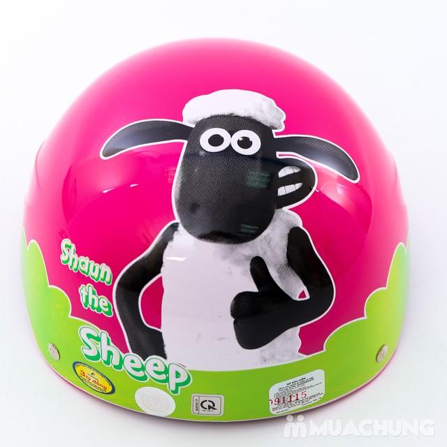 Mũ bảo hiểm trẻ em Chita CT9C hình cừu xinh xắn - 2