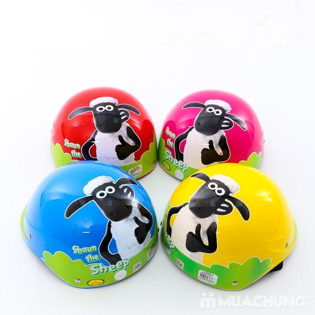 Mũ bảo hiểm trẻ em Chita CT9C hình cừu xinh xắn - 8