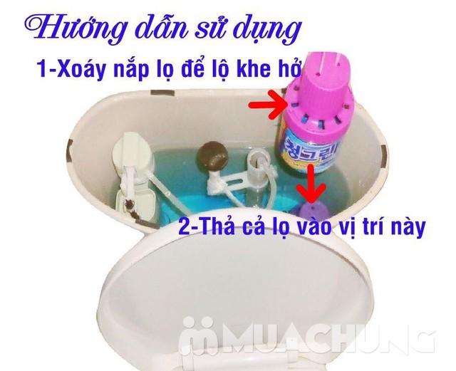 Combo 2 ống thơm tẩy két nước toilet mùi thơm mát - 6