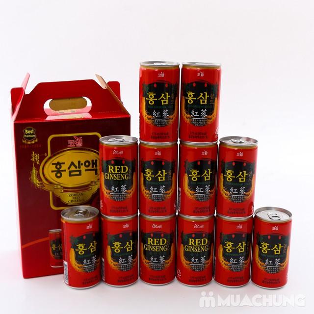 12 lon nước hồng sâm Hàn Quốc thanh nhiệt, mát gan - 3