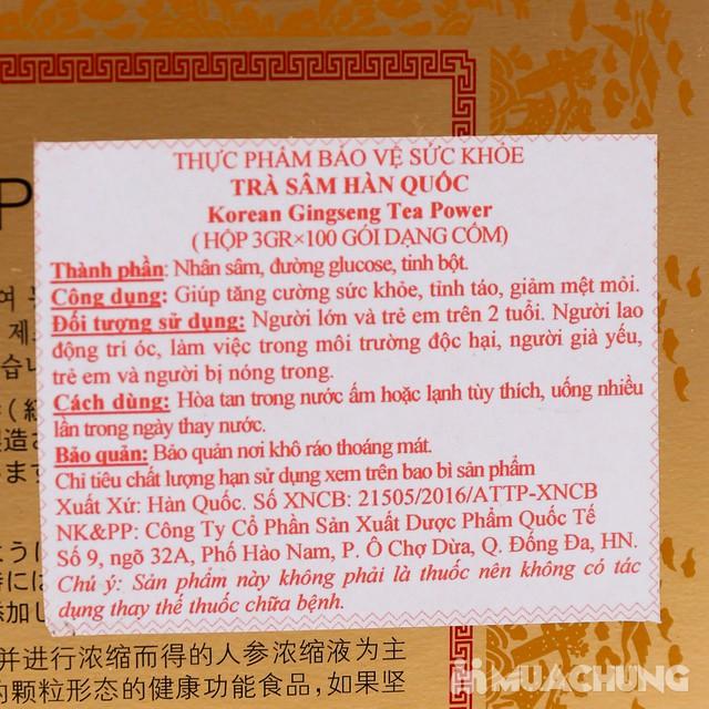Trà sâm Hàn Quốc nhập khẩu (Hộp 3g x 100 gói) - 11