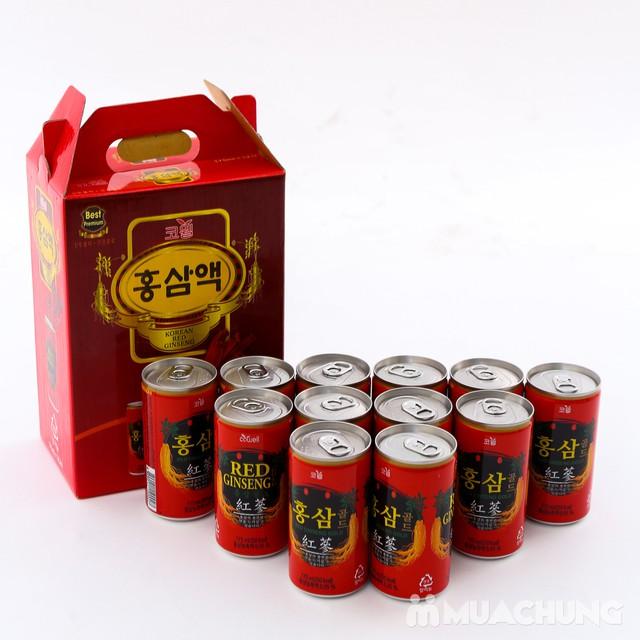 12 lon nước hồng sâm Hàn Quốc thanh nhiệt, mát gan - 4