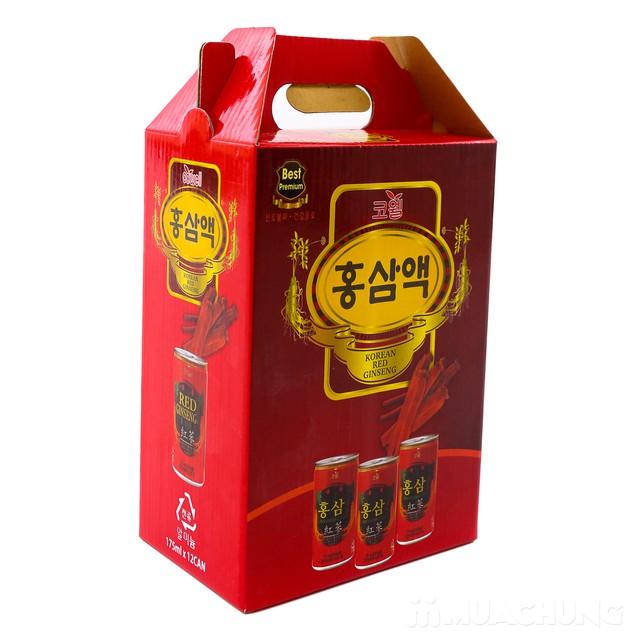 12 lon nước hồng sâm Hàn Quốc thanh nhiệt, mát gan - 5