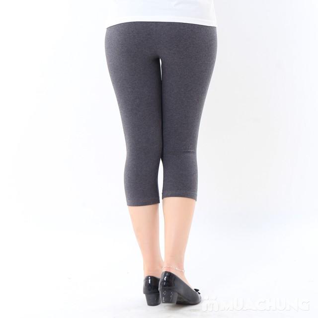 2 quần legging cotton mềm mại, thoáng mát chào hè - 8