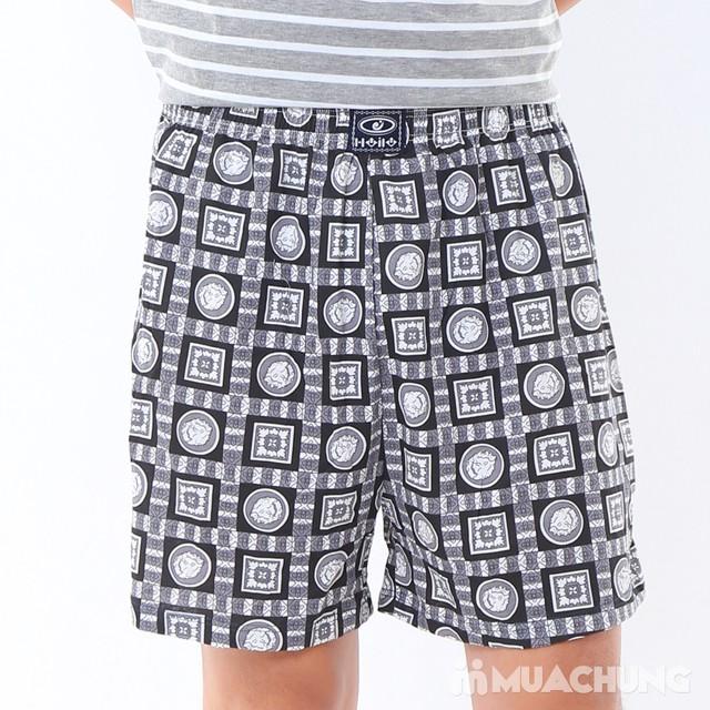 Combo 2 quần đùi cotton thoáng mát cho nam - 9
