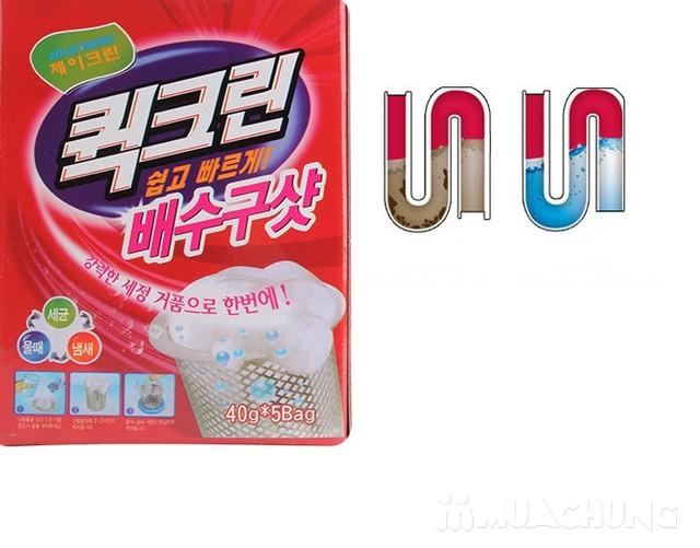 2 hộp bột thông tắc bồn nhập khẩu Hàn Quốc - 3