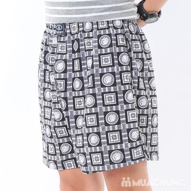 Combo 2 quần đùi cotton thoáng mát cho nam - 10