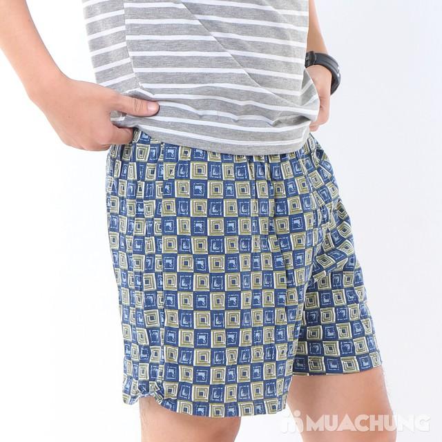 Combo 2 quần đùi cotton thoáng mát cho nam - 6