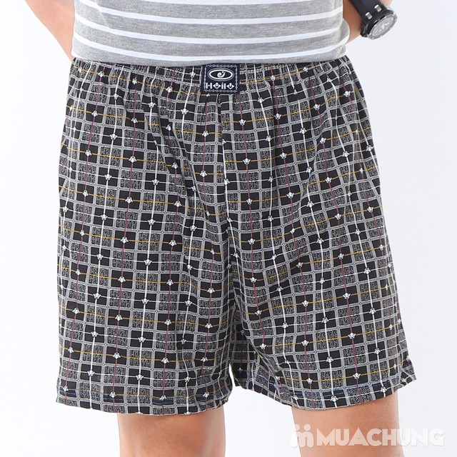 Combo 2 quần đùi cotton thoáng mát cho nam - 5