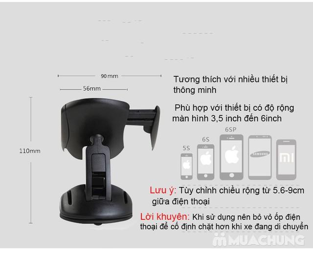 Giá đỡ điện thoại trên ô tô xoay 360° độc đáo - 8
