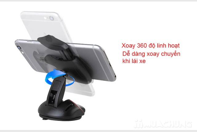 Giá đỡ điện thoại trên ô tô xoay 360° độc đáo - 10