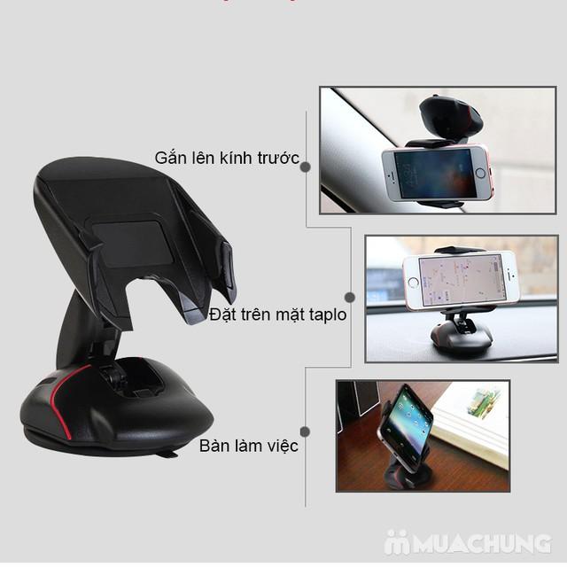 Giá đỡ điện thoại trên ô tô xoay 360° độc đáo - 11
