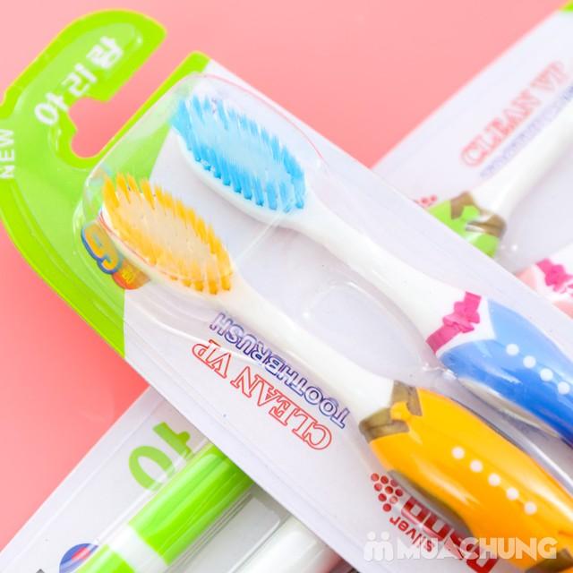 Combo 8 bàn chải đánh răng lông tơ NK Hàn Quốc - 9