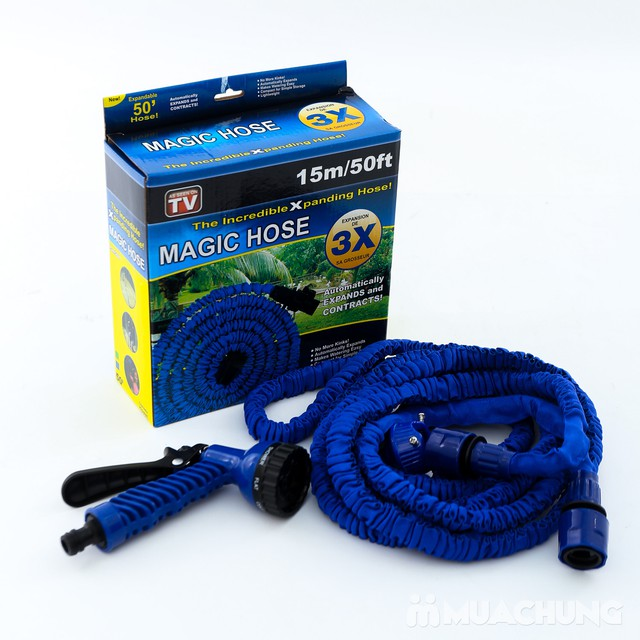 Vòi xịt nước giãn nở thông minh Magic Hose 15m - 4