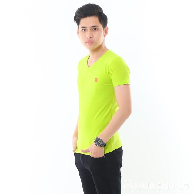 2 áo phông nam nhiều màu chất cotton thoáng mát - 16