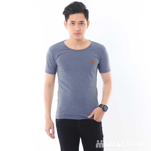 2 áo phông nam nhiều màu chất cotton thoáng mát - 12