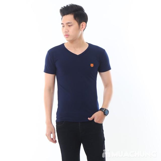 2 áo phông nam nhiều màu chất cotton thoáng mát - 10