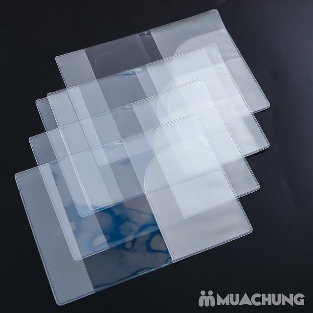 Combo 5 bọc hộ chiếu nhựa dẻo, có khe nhét thẻ - 3