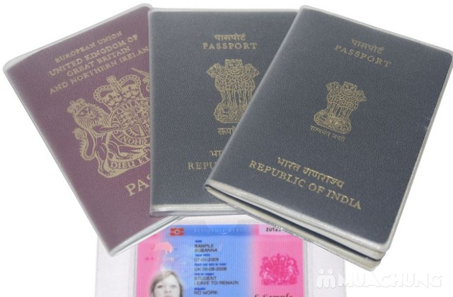 Combo 5 bọc hộ chiếu nhựa dẻo, có khe nhét thẻ - 2