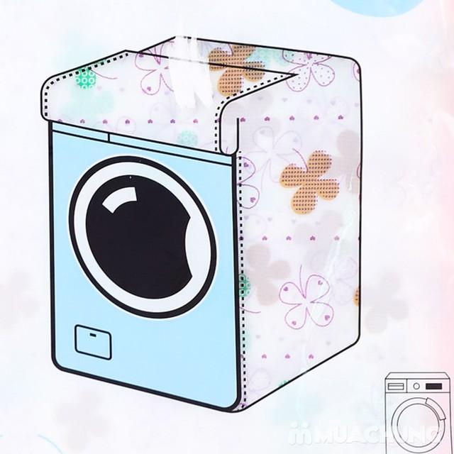 Vỏ bọc máy giặt cửa ngang họa tiết xinh xắn - 6