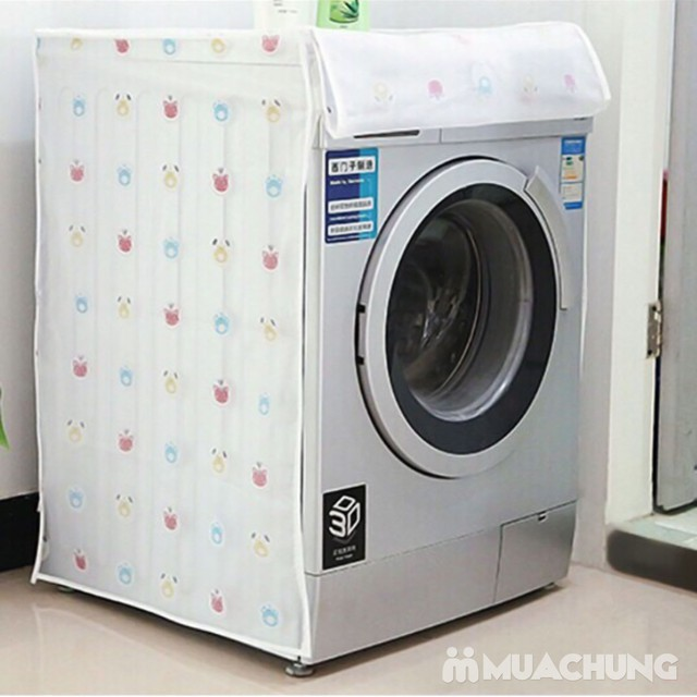 Vỏ bọc máy giặt cửa ngang họa tiết xinh xắn - 7