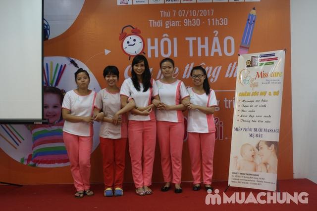Massage thư giãn cho bà bầu phục vụ tại nhà Miss Care - 1