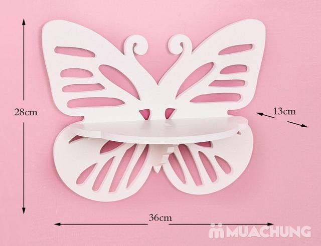 Combo 2 kệ trang trí hình cánh bướm - 5