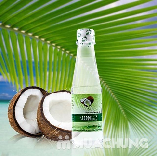 2 chai dầu dừa Steppe coco nguyên chất - 250ml - 1