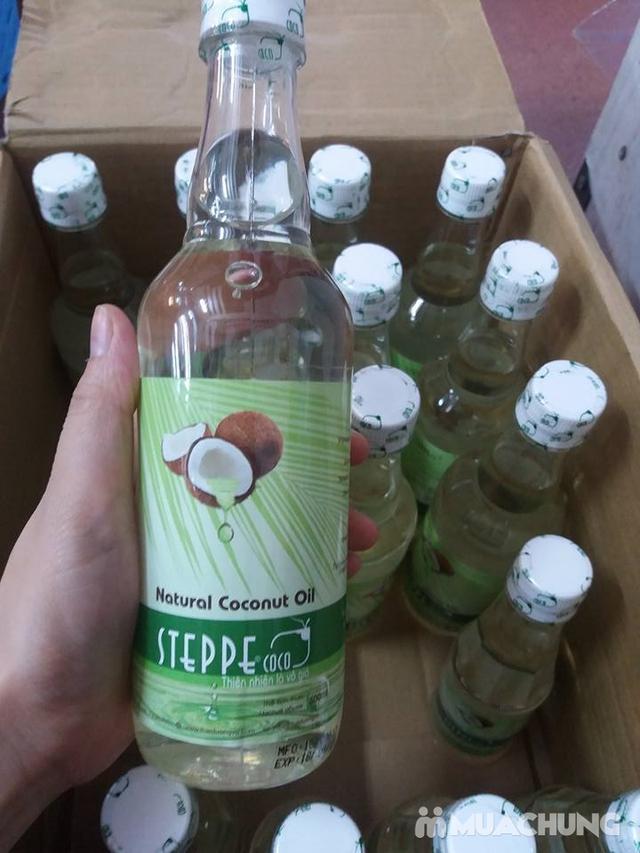 Dầu dừa Steppecoco nguyên chất - chai 500ml - 2