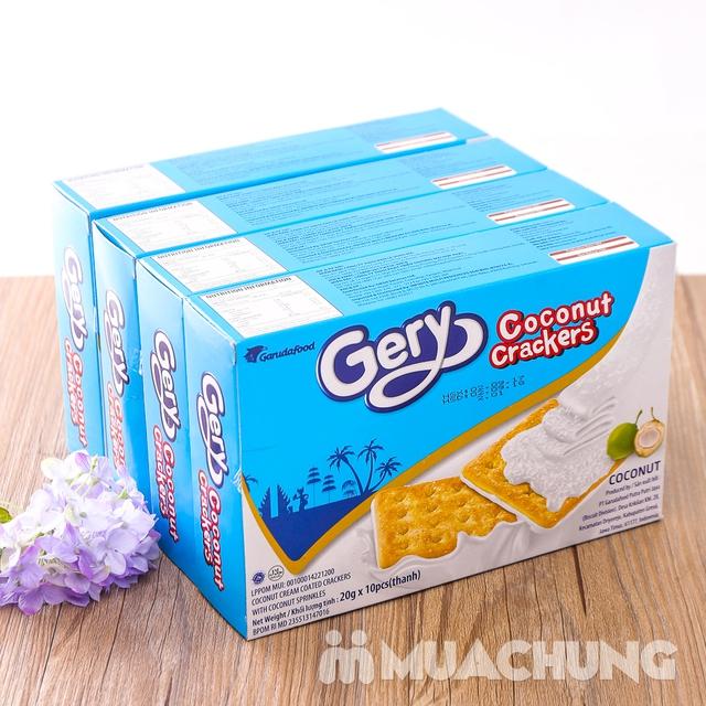 Combo 4 bánh quy Gery phủ dừa giòn, thơm hấp dẫn - 13