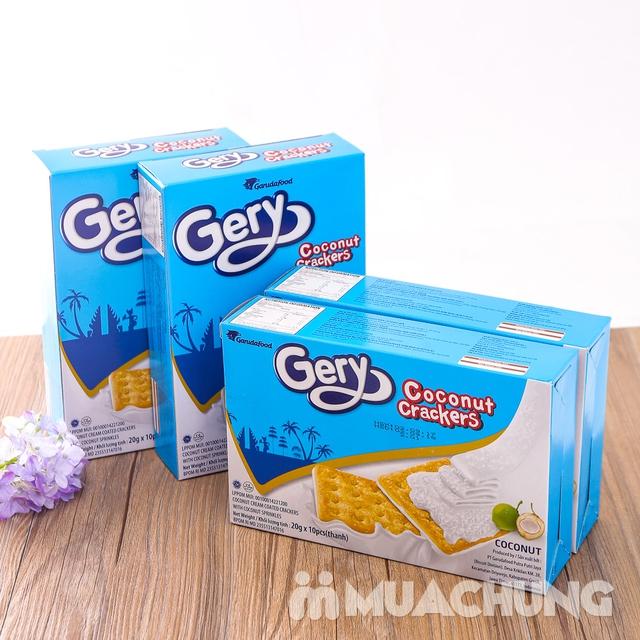 Combo 4 bánh quy Gery phủ dừa giòn, thơm hấp dẫn - 15