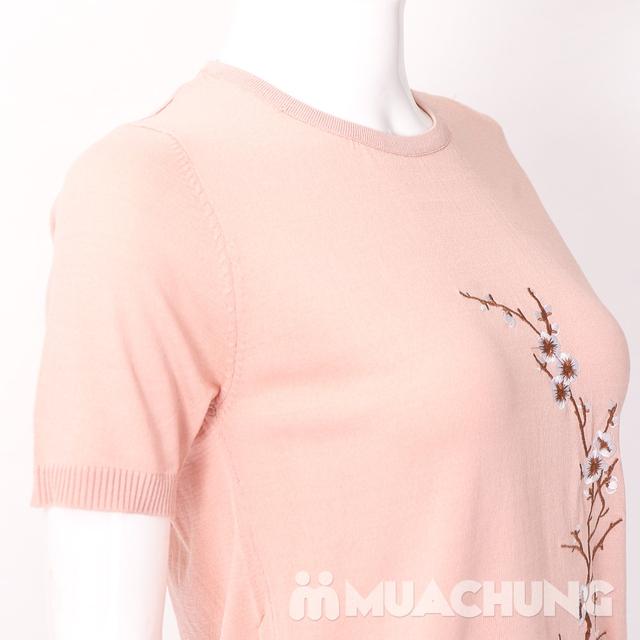 Áo len nữ thêu hoa chất đẹp - hàng Quảng Châu - 10