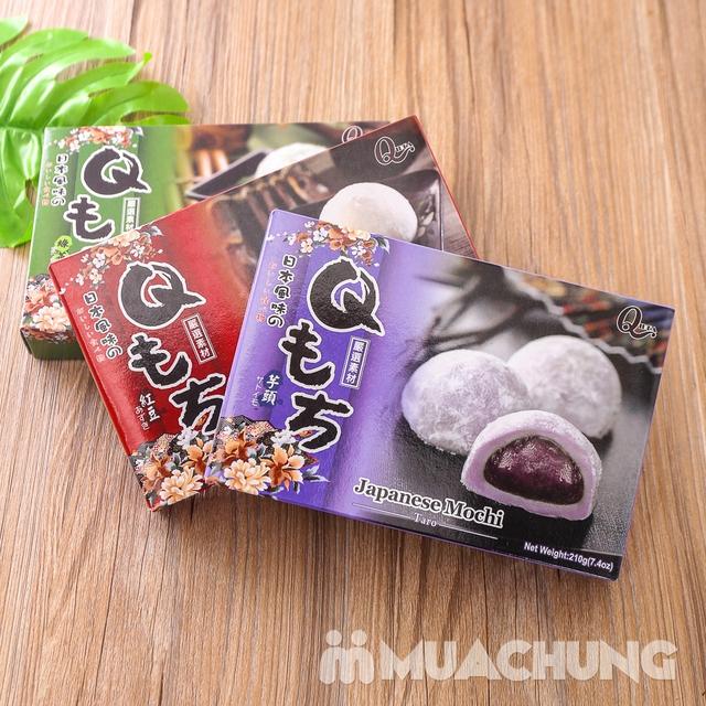 3 hộp bánh Mochi vị trà xanh, đậu đỏ và khoai môn - 12