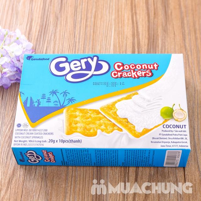 Combo 4 bánh quy Gery phủ dừa giòn, thơm hấp dẫn - 10