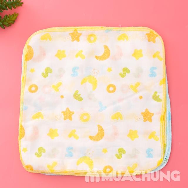 Set 16 khăn xô hoa xuất Nhật - an toàn cho da bé - 7