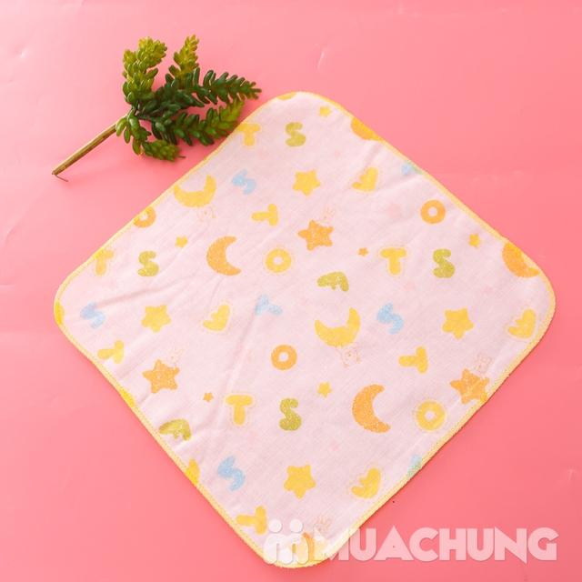 Set 16 khăn xô hoa xuất Nhật - an toàn cho da bé - 10
