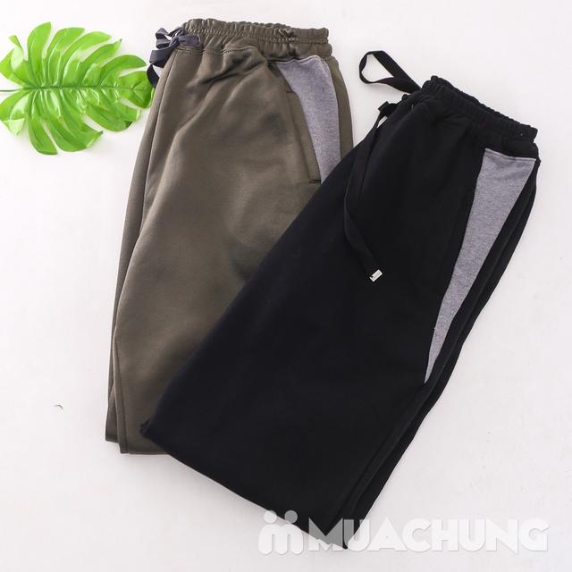 2 Quần nỉ nam bo gấu chất dày dặn - Hàng Việt Nam - 6